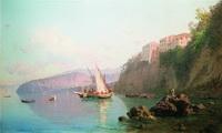 Вид Сорренто (А.П. Боголюбов, 1856 г.)