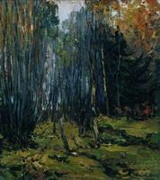 Осенний лес (И.И. Левитан, 1899 г.)