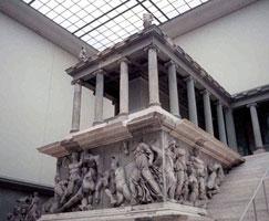Пергамский алтарь (фрагмент)