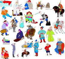Персонажи русских сказок