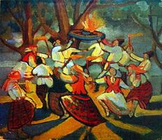 На Купалье (М. Филлипович, 1920-е г.)