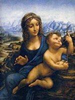 Мадонна с младенцем Творчество Леонардо да Винчи