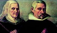 Портрет пожилых супругов (Ф. Пачеко)