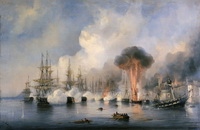 Синопское сражение 1853 г. (А.П. Боголюбов)