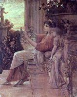 Картина Густава Климта Сафо