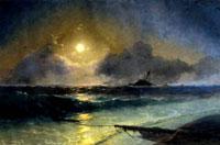 Восход луны (И.К. Айвазовский)