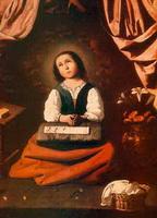 Детство Мадонны (Ф. де Сурбаран)