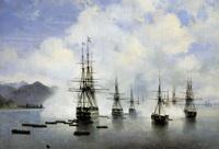 Десант Н.Н. Раевского у Субаши (И.К. Айвазовский, 1839 г.)