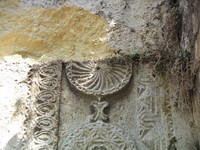 Орнаменты колокольни церкви Сурб-Саркис в Феодосии