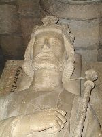 Надгробие Карла Мартелла в аббатстве Сен-Дени