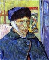 Автопортрет с отрезанным ухом (Ван Гог)