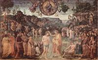 Крещение Христа (П. Перуджино, фреска)