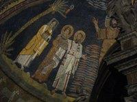 IX века. мозаика. Санта-Прасседе. апостолом Павлом