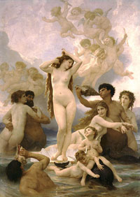 Рождение Венеры (Уильям Бугро)