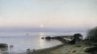 На берегу моря (Р.Г. Судковский, 1882 г.)