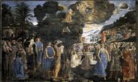 Дарование заповедей (фреска в Сикстинской капелле)