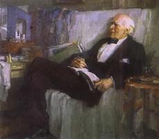 К.С. Станиславский за работой (Н.П. Ульянов, 1947 г.)