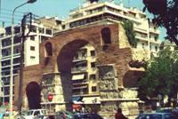 Триумфальная арка Галерия - Камара (Салоники)