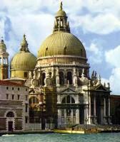 Церковь Санта-Мария делла Салуте в Венеции. XVII. Италия