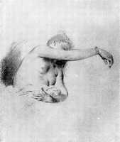 Женская фигура (А. Ватто, 1715-1720 г.)